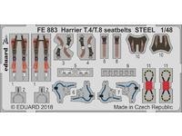 Harrier T.4/T.8 seatbelts STEEL 1/48