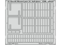 USS Missouri part 10 - hull plates  1/200