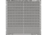 WWII German doors and windows  1/350