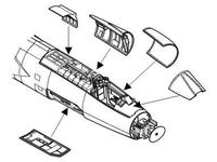 F-104S/G - interior set for HAS
