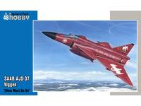 "SAAB AJS-37 Viggen ""Show must go on"" 1/48"