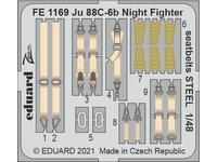 Ju 88C-6b Night Fighter seatbelts STEEL 1/48