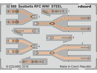 Seatbelts RFC WWI STEEL