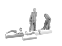 Viggen Ground Crew (2 figs.)