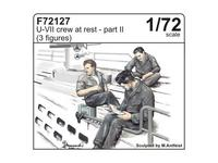 U-VII crew at rest part II (3 fig.)