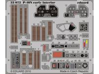 P-40N early interior S.A.  1/32