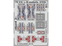 L-39 seatbelts STEEL  1/48