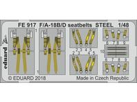 F/A-18B/D seatbelts STEEL  1/48