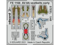 AV-8A seatbelts early STEEL 1/48