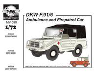 DKW F-91/6 Ambulance & Fire patrol car