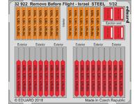 Remove Before Flight - Israel STEEL  1/32