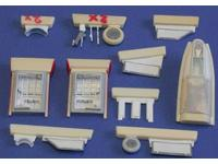 Gloster Meteor FR.Mk 8/9 undercariage set for