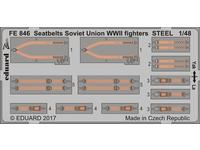 Seatbelts Soviet Union WW2 fighters STEEL 1/48