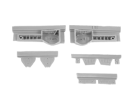 1/48 N1K2-J Shiden Kai (George) - Undercarriage set