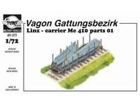 Wagon Linz carrier Me 410 parts 01
