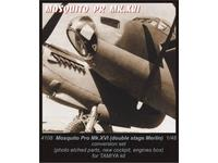 Mosquito double stage Merlin - conver.set for