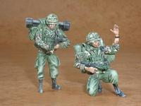 British modern soldiers part II. (2 fig.)