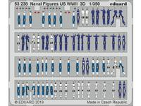 Naval Figures US WWII 3D 1/350
