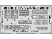 F-14A seatbelts FABRIC