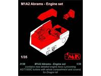 M1A2 Abrams Engine set for Dragon
