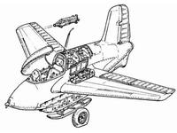 Me-163B - exterior set for ACA