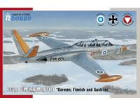 Fouga CM.170 Magister German, Finnish and Austrian 1/72