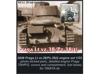 Praga Lt.38/Pz.38(t) - engine set for TAM