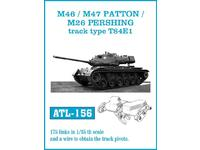 ATL-156 M46m / M47 PATTON / M26 PERSHING trac