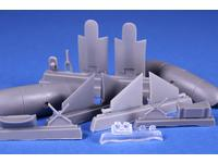 """Blenheim Mk. """"Finish AF 1.serie"""" 1/72 Fixed type Ski Undercarriage for Airfix"""
