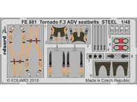 Tornado F.3 ADV seatbelts STEEL 1/48