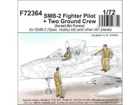 SMB-2 Fighter Pilot + Two Ground Crew (Israel Air Force)