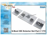 1/72 U-Boot IX Exterior Set Part I, for Revell kit