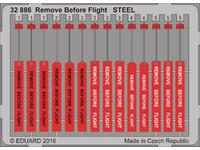 Remove Before Flight STEEL