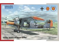 "Dornier Do 27 ""German, Spanish and Belgian Service"" 1/72"