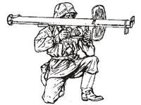 Wermacht tank hunter - gunner (1 fig.)