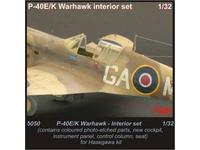 P-40 E/K Warhawk Interior set for HAS