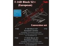 F-16D Block 52+Europe conv.set for ACA