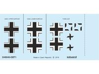 Fw 190A-2 national insignia 1/48