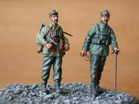 German Mountain Troops - Gebirgsjäger (2 fig.