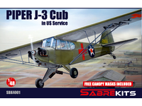 Piper J-3 Cub 'In US Service'