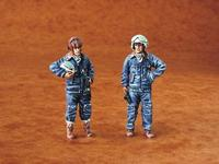 Warsaw Pact pilots (2 fig.)