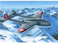 DH.100 Vampire Mk.I 'The First Jet Guardians of Neutrality' 1/72