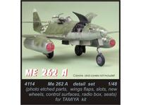 Me 262A - detail set for TAM
