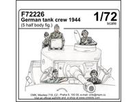 German tank crew 1944 (5 half body figures)