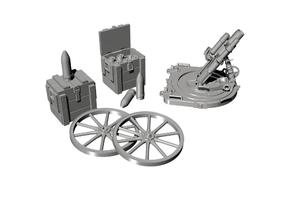 1/35 German WWI 7.58 cm Leichter minenwerfer n/A – all resin kit  - 1