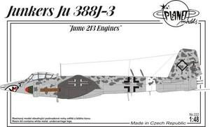 Junkers Ju 388J-3 Jumo 213 engines