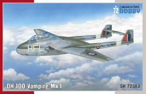DH.100 Vampire Mk.I  'RAF, RAAF and Armée de l'Air' 1/72  - 1