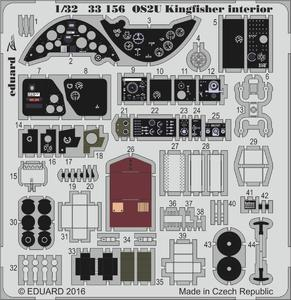 OS2U Kingfisher interior  1/32