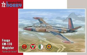 """Fouga CM.170 Magister """"Exotic Air Forces""""  - 1"""