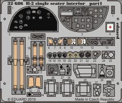 Il-2 single seater interior S.A.